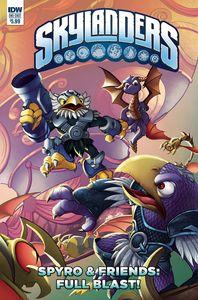 [Skylanders: Spyro & Friends: Quarterly Full Blast! (Cover A Baldeon) (Product Image)]