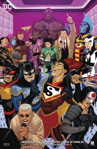 [New Super Man & The Justice League Of China #23 (Variant Edition) (Product Image)]