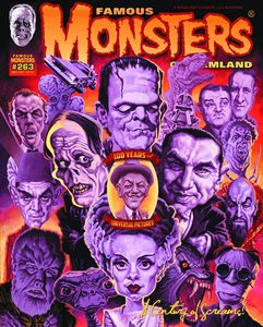 [Famous Monsters Of Filmland #263: 100 Years Of Universal Pictures (Product Image)]