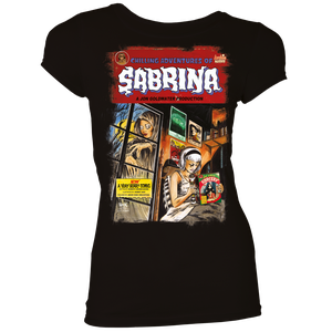 [Archie Comics: Chilling Adventures Of Sabrina: Women's Fit T-Shirt: Eerie Homage (Product Image)]