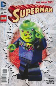 [Superman #36 (Lego Variant Edition) (Product Image)]