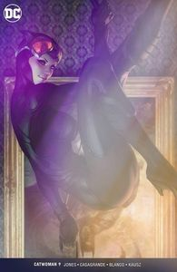 [Catwoman #9 (Artgerm Foil ECCC Variant - Signed Edition) (Product Image)]