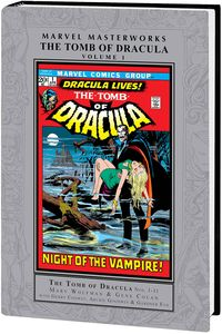 [Marvel Masterworks: Tomb Dracula: Volume 1 (Hardcover) (Product Image)]