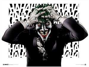 [Batman: Giclee Print: The Joker By Brian Bolland (Signed 2nd Edition) (Product Image)]