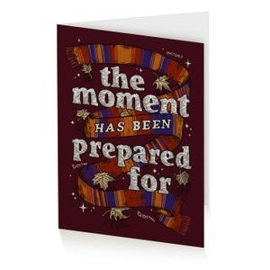 [Doctor Who: Anniversary Collection: Greeting Card: The Moment Has Been Prepared For (Product Image)]