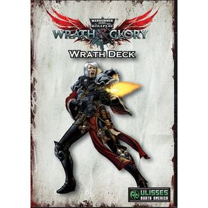 [Warhammer: Wrath & Glory: Wrath Card Deck (Product Image)]
