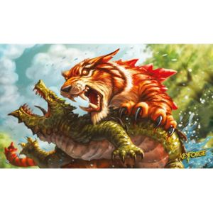 [Keyforge: Playmat: Mighty Tiger (Product Image)]