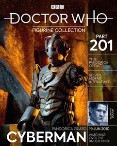[Doctor Who Figurine Collection #201: Pandorica Guard Cyberman (Product Image)]