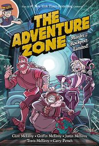 [The Adventure Zone: Murder On Rockport Limited! (Hardcover) (Product Image)]