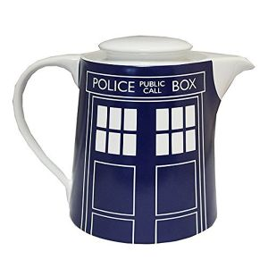 [Doctor Who: Teapot: TARDIS Door Panel (Product Image)]