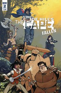 [Joe Hill: The Cape: Fallen #2 (Cover A Howard) (Product Image)]