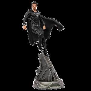 [Justice League Movie: Art Scale Statue: Superman (Black Suit) (Product Image)]