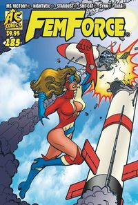 [The cover for Femforce #185]