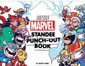 [Little Marvel Standee Punch-Out Book (Product Image)]