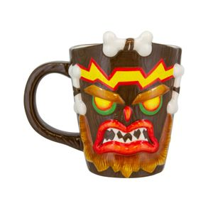 [Crash Bandicoot: Shaped Mug: Uka Uka (Product Image)]