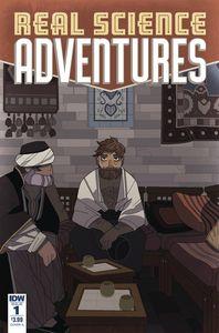 [Real Science Adventures: Nicodemus Job #1 (Cover A Mcclaren) (Product Image)]