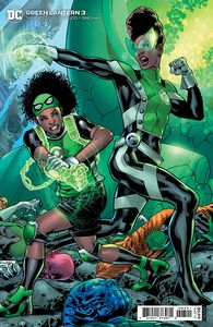 [Green Lantern #3 (Bryan Hitch Cardstock Variant) (Product Image)]
