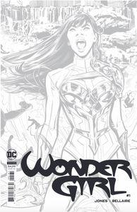 [Wonder Girl #1 (Joelle Jones Black & White Card Stock Variant) (Product Image)]