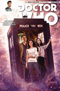 [Doctor Who: 10th Doctor: Year Three #14 (Cover B Photo) (Product Image)]