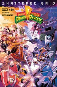 [Mighty Morphin Power Rangers #28 (Main Sg) (Product Image)]