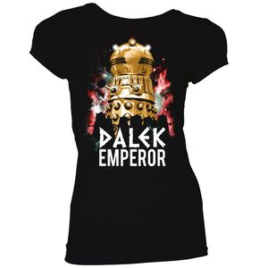 [Doctor Who: Time Lord Victorious: Women's Fit T-Shirt: Dalek Emperor (Product Image)]