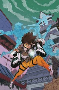[Overwatch: Tracer: London Calling #5 (Cover B Greene) (Product Image)]