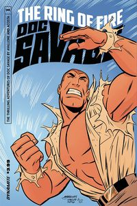 [Doc Savage: Ring Of Fire #1 (Cover B Marques) (Product Image)]