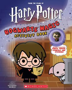[Harry Potter: Hogwarts Magic! Book With Pencil Topper (Product Image)]