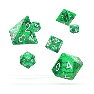 [Oakie Doakie Dice: RPG 7 Set: Speckled Green (Product Image)]
