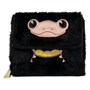 [Fantastic Beasts & Where To Find Them: Loungefly Plush Wallet: Niffler (Product Image)]