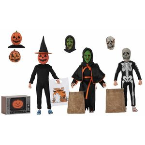 "[Halloween 3: Season Of The Witch: 8"" Scale Clothed Action Figure 3-Pack (Product Image)]"