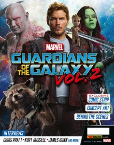 [Guardians Of The Galaxy Vol. 2: Movie Special Magazine (Product Image)]