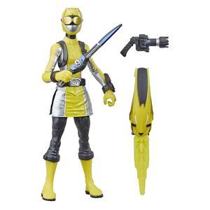 [Power Rangers: Beast Morphers: Basic Action Figure: Yellow Ranger (Product Image)]