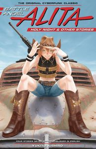 [Battle Angel Alita: Holy Night & Other Stories (Hardcover) (Product Image)]