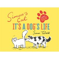 [Simon Tofield signing Simon's Cat: It's A Dog's Life (Product Image)]