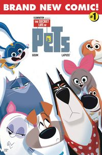 [The cover for Secret Life Of Pets: Volume 2 #1]