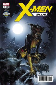 [X-Men: Blue #23 (Crain New Mutants Variant) (Legacy) (Product Image)]