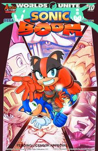 [Sonic Boom #10 (Product Image)]