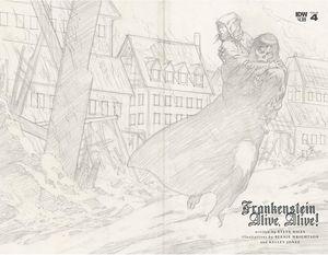 [Frankenstein Alive, Alive #4 (2nd Printing) (Product Image)]