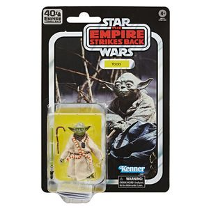 [Star Wars: The Empire Strikes Back: 40th Anniversary Black Series Action Figure: Yoda (Product Image)]
