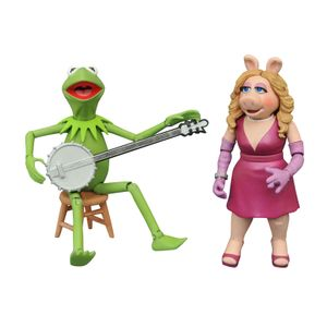 [The Muppets: Action Figure 2 Pack: Kermit & Miss Piggy (Product Image)]
