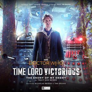[The cover for Doctor Who: Time Lord Victorious: The Enemy Of My Enemy]