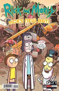[Rick & Morty: Rick's New Hat #2 (Cover A Stresing) (Product Image)]