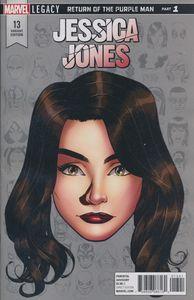 [Jessica Jones #13 (Mckone Legacy Headshot Variant Leg) (Product Image)]