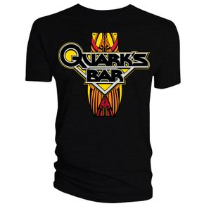 [Star Trek: Deep Space Nine: T-Shirt: Quark's Bar (Black) (Product Image)]