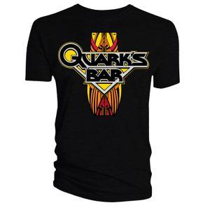 [Star Trek: Deep Space Nine: T-Shirt: Quark's Bar (Black) (Product Image)]