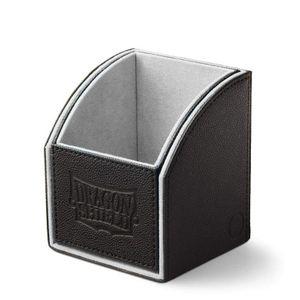 [Dragon Shield: Nest Box 100: Light Grey/Black (Product Image)]