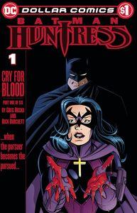 [Dollar Comics: Batman Huntress Cry For Blood #1 (Product Image)]