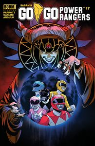 [Go Go Power Rangers #17 (Main & Mix Sg) (Product Image)]
