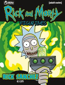 [Rick & Morty Figurine Collection #2: Rick (Product Image)]